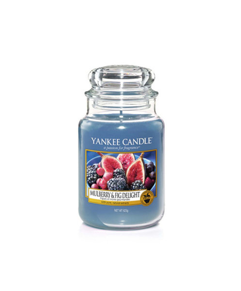 Yankee Candle ароматна свещ MULBERRY & FIG DELIGH